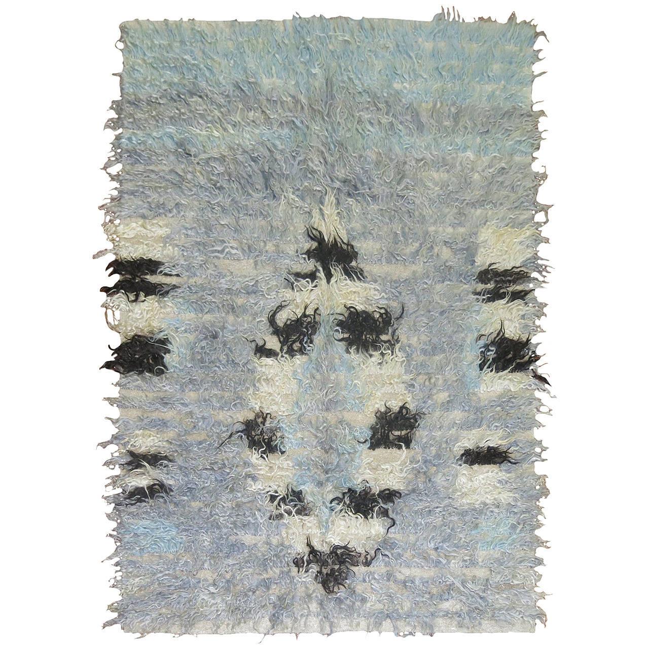 Turkish tulu rug, ca. 1950