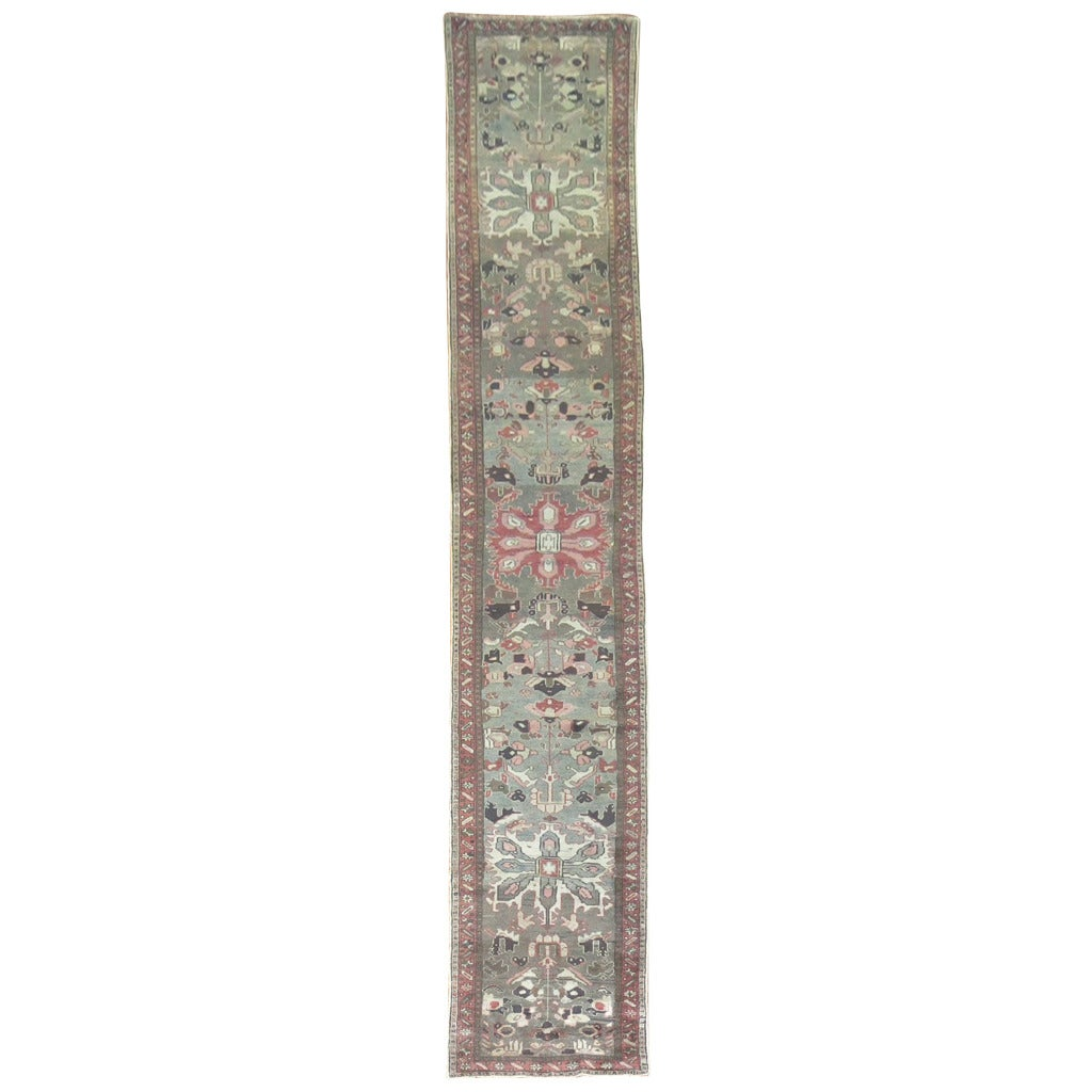 Vintage Persian Long Runner 1