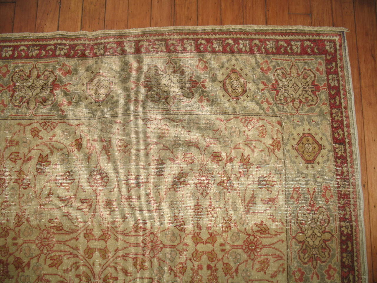 American Empire Shabby Chic Antique Turkish Sivas For Sale