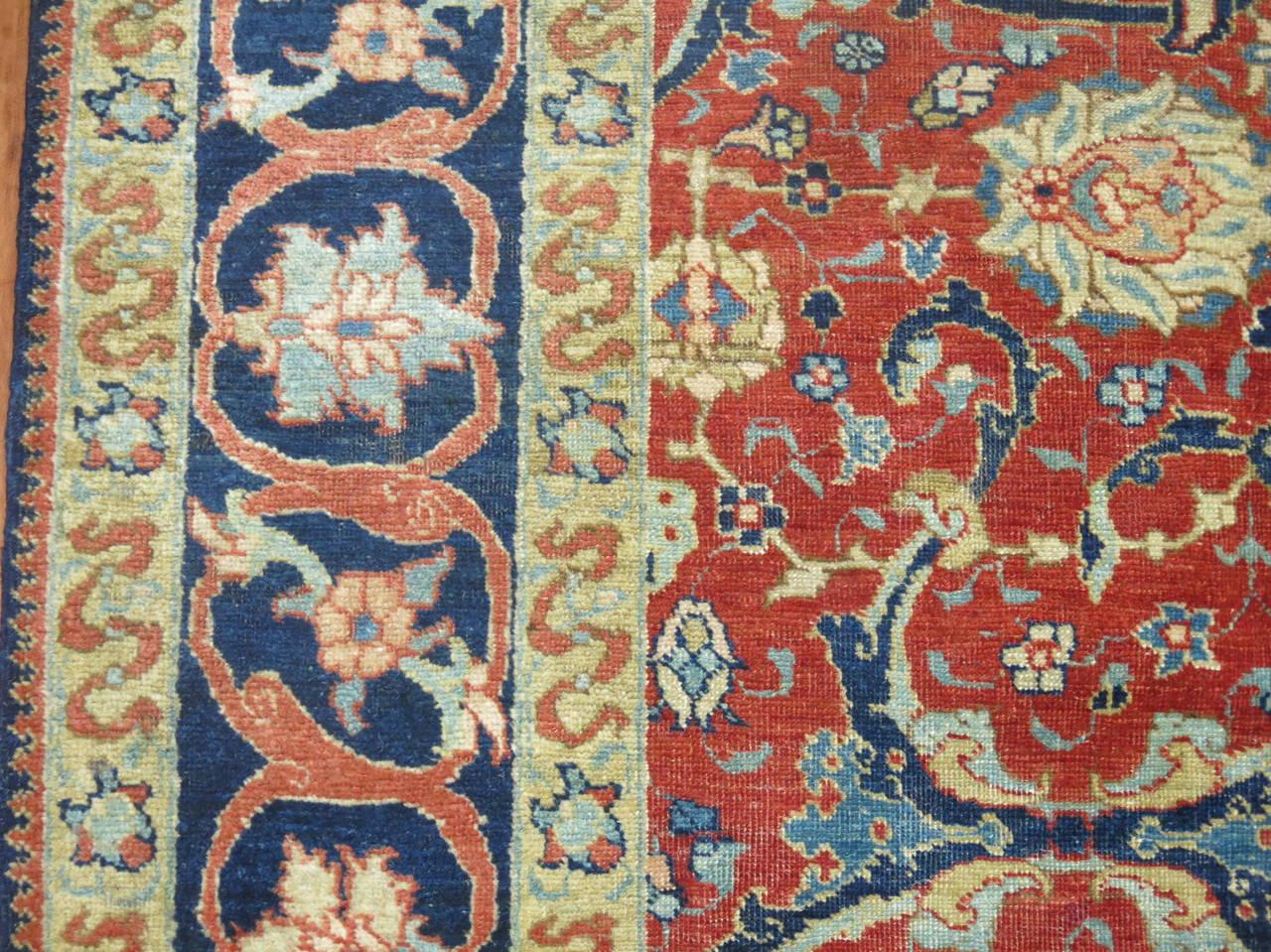 19th Century Antique Persian Tabriz 3