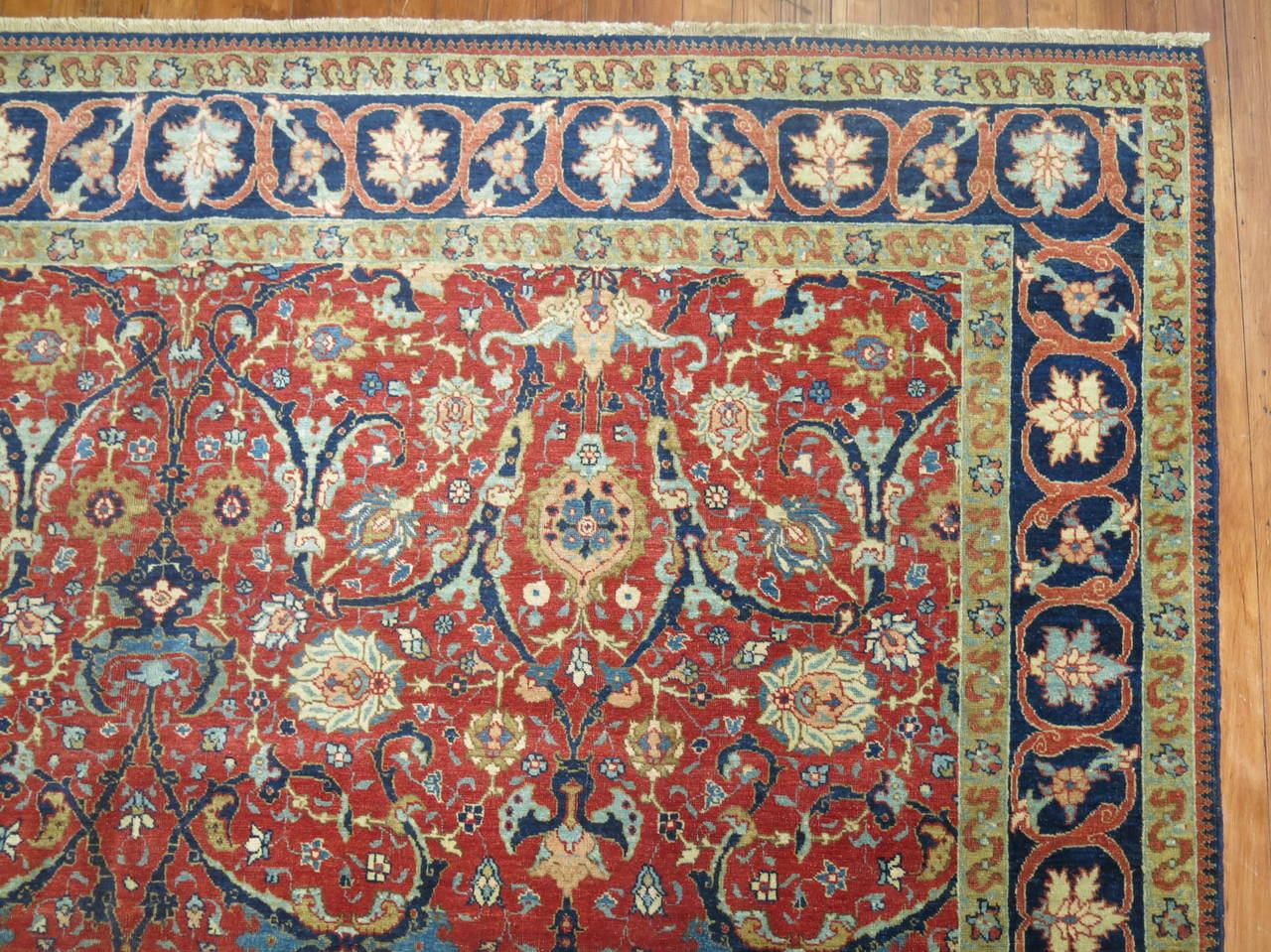 19th Century Antique Persian Tabriz 8