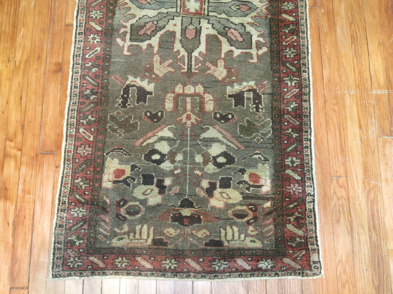 Vintage Persian Long Runner In Good Condition For Sale In New York, NY