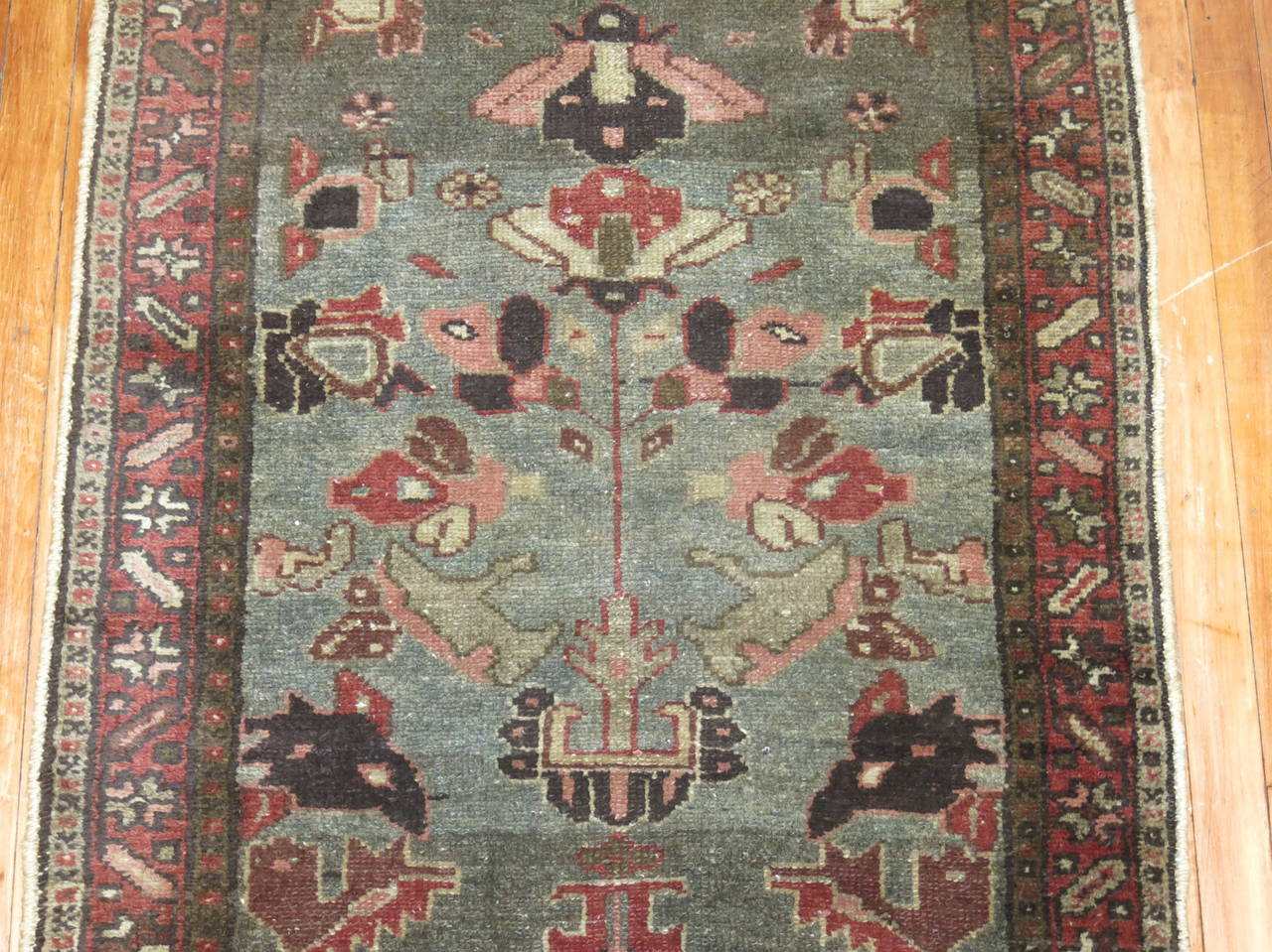 Mid-20th Century Vintage Persian Long Runner For Sale