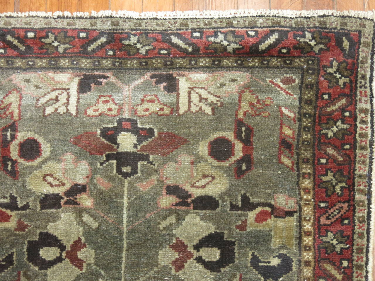 Vintage Persian Long Runner 6