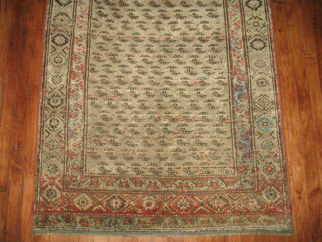 Antique Persian Malayer Runner 6