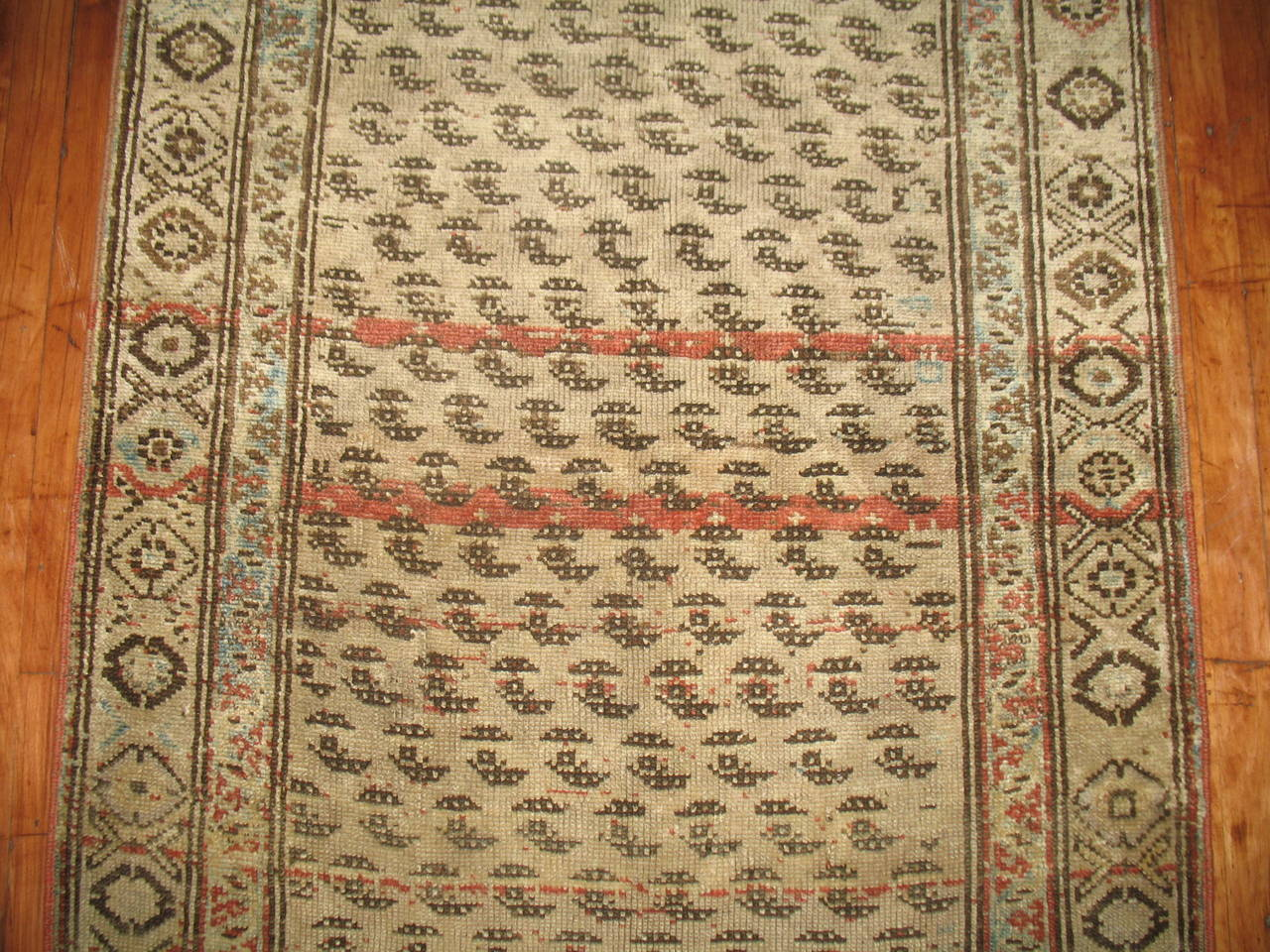 Antique Persian Malayer Runner 5
