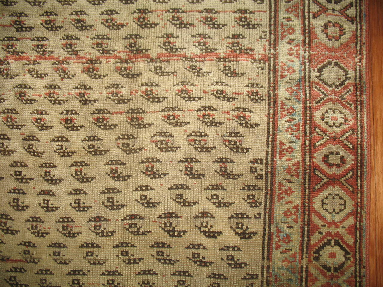 Antique Persian Malayer Runner 4