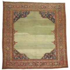 Antique Persian Serab Rug