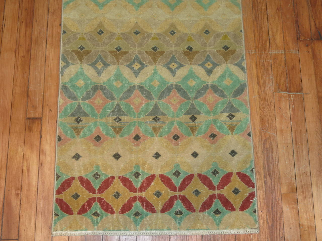 Midcentury Turkish Anatolian Runner 4