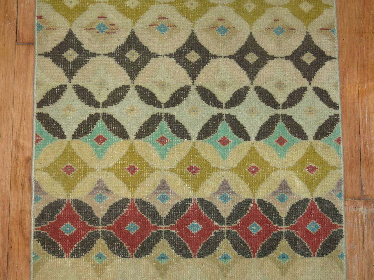 Midcentury Turkish Anatolian Runner 5