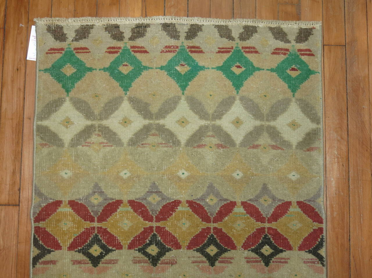 Midcentury Turkish Anatolian Runner 3