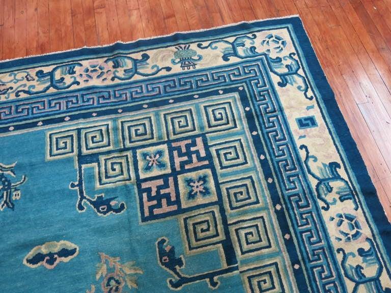 Antique Chinese Peking Rug At 1stdibs