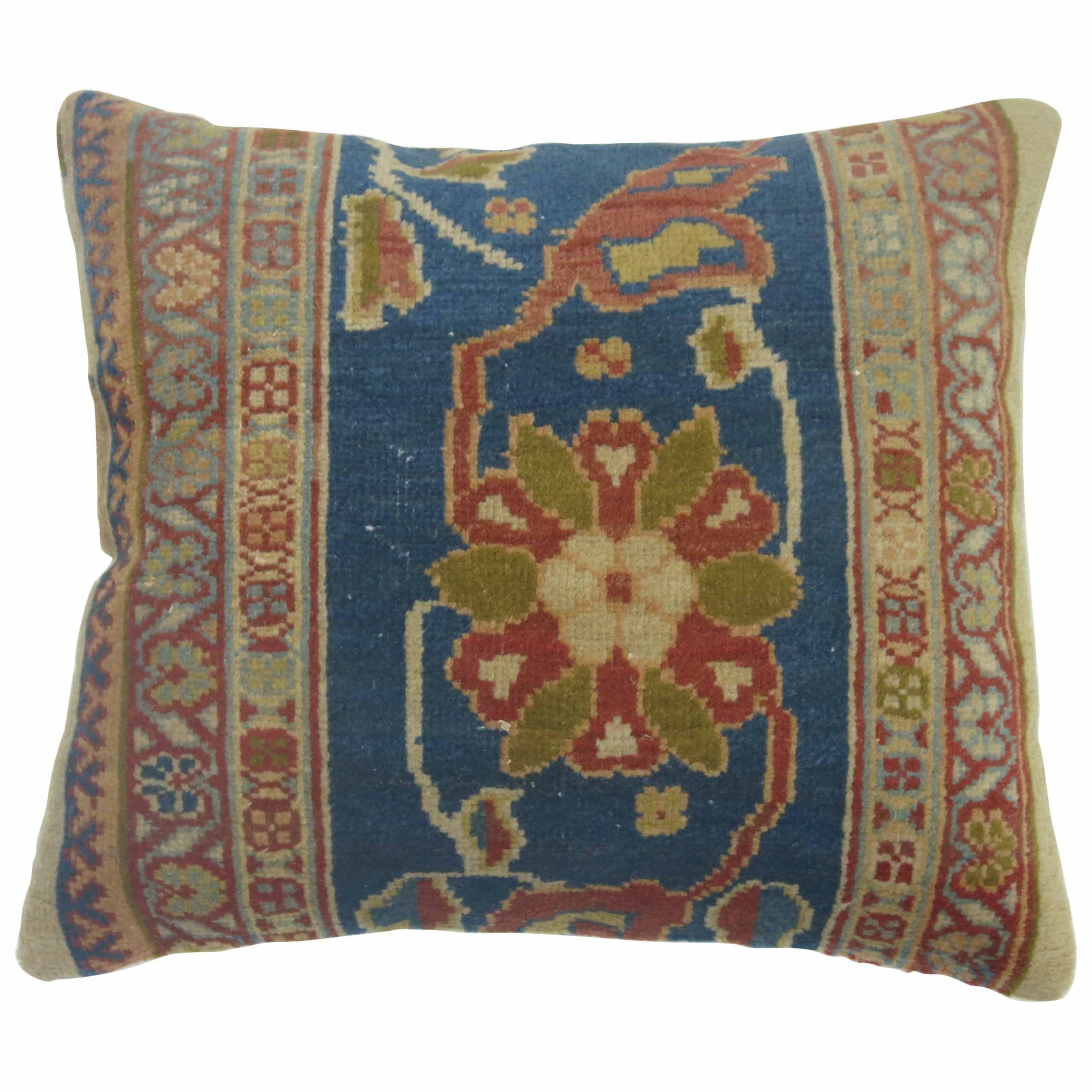 Persian Sultanabad Rug Pillow