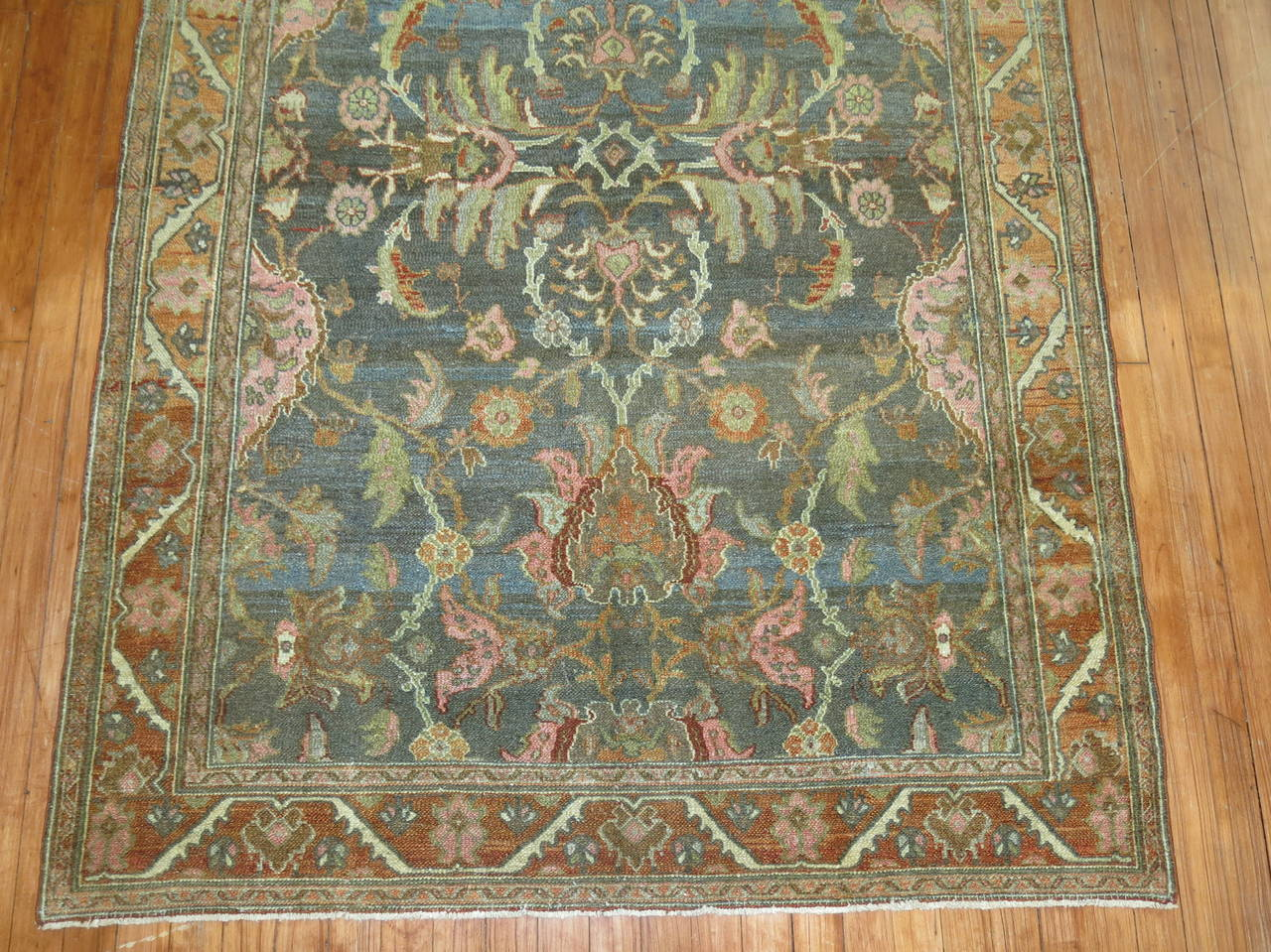 Antique Persian Malayer Rug 3