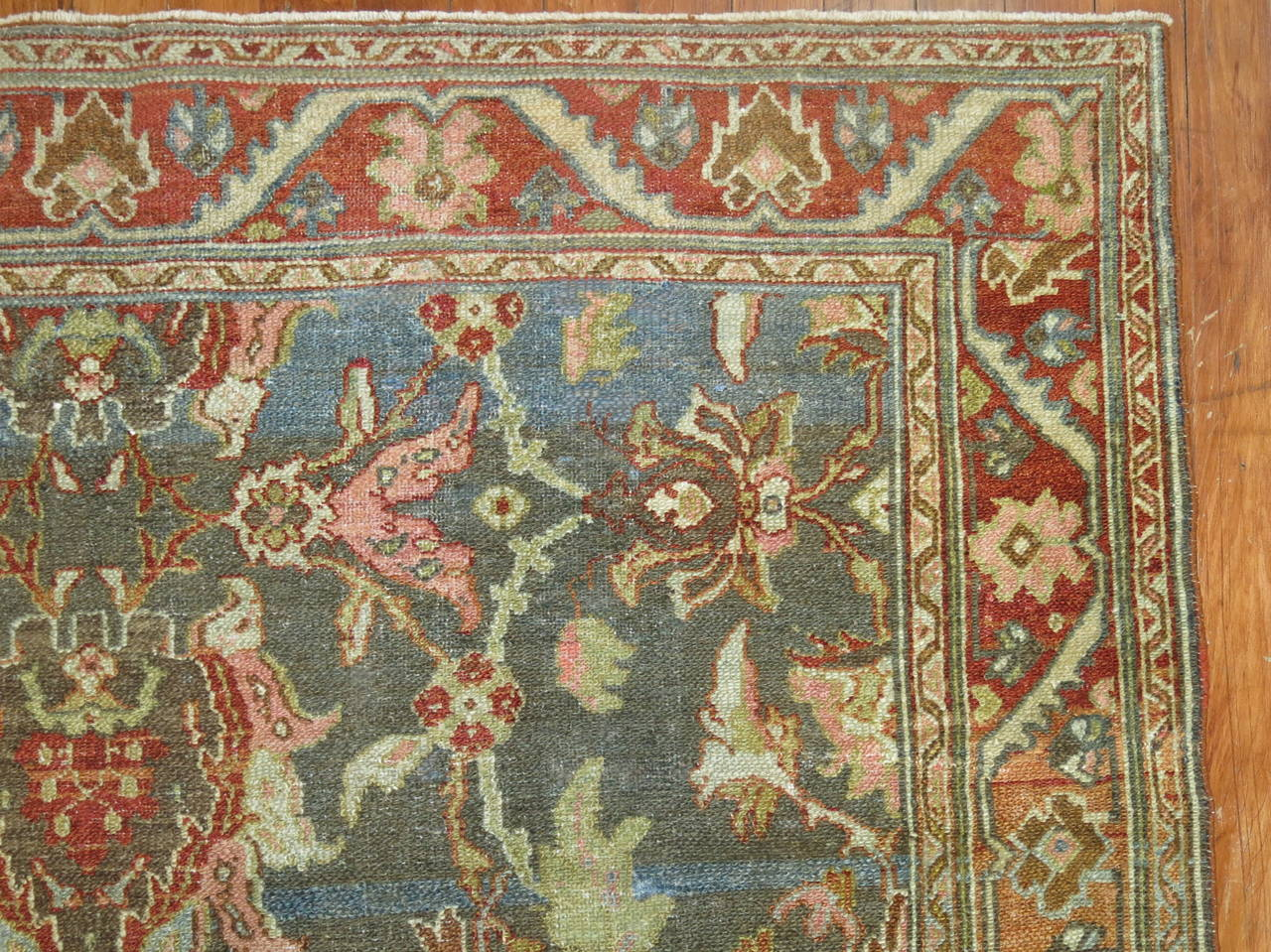 Antique Persian Malayer Rug 5