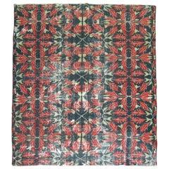 Vintage Turkish Weathered Rug