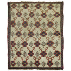 Vintage Turkish Konya Rug