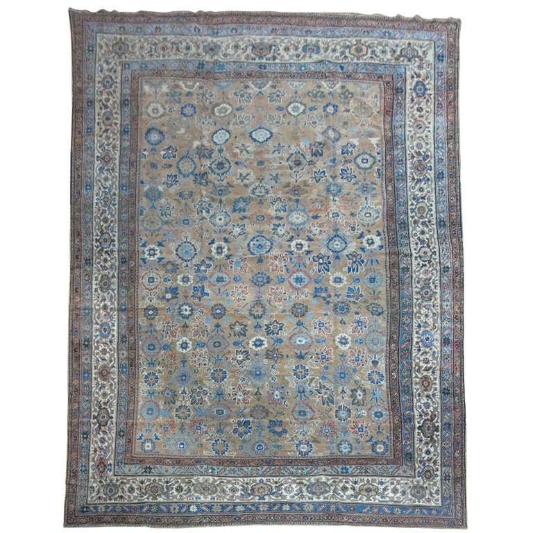 Antique Persian Mahal Rug