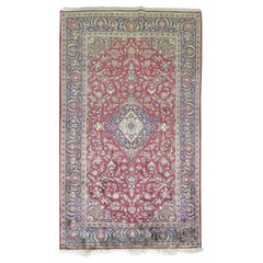 Antique Persian Silk Area Rug