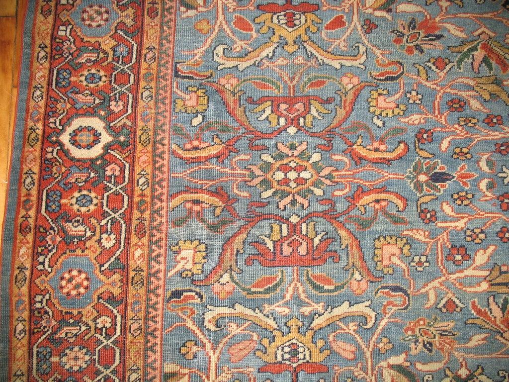 Antique Persian Sultanabad Mahal Rug At 1stdibs