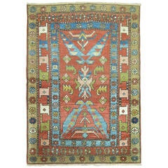Antique Bakshaish Rug from Northwest Persia