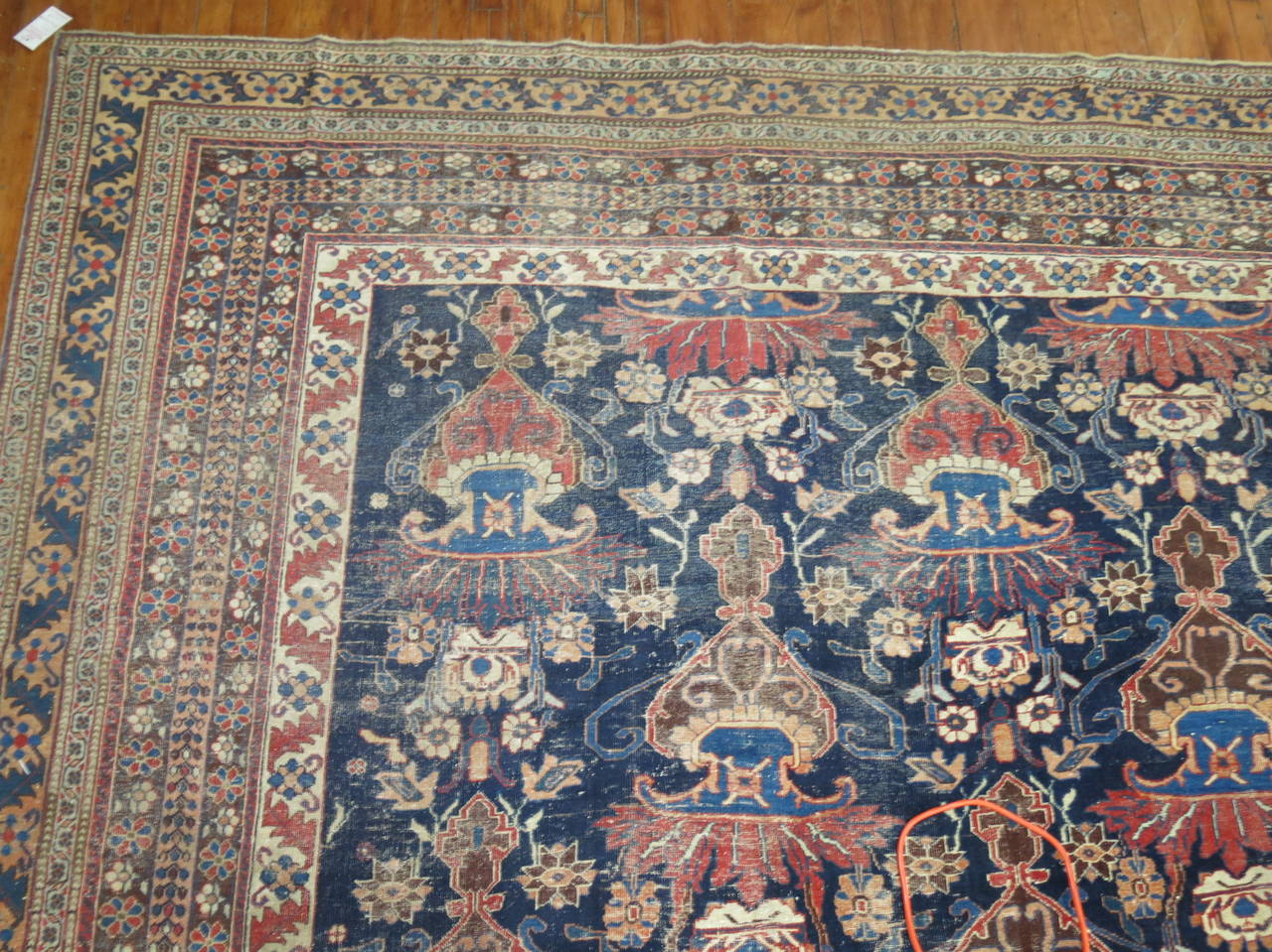 Antique Persian Afshar Oversize Rug 3