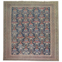 Antique Persian Afshar Oversize Rug