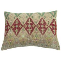 Floor Pillow from an Indian Rug