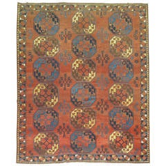 Antique Ersari Turkmen Rug