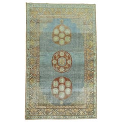 Blue Antique Khotan Rug
