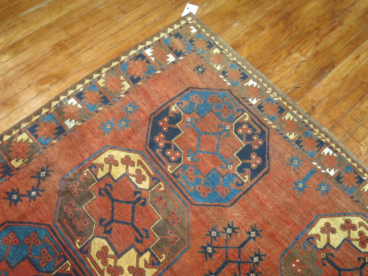 Antique Ersari Turkmen Rug For Sale At 1stdibs