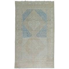 Antique Khotan Samarkand Gallery-Size Rug
