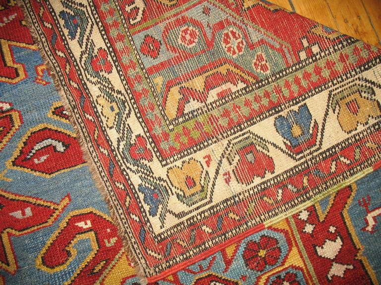 Antique Caucasian Rug 7