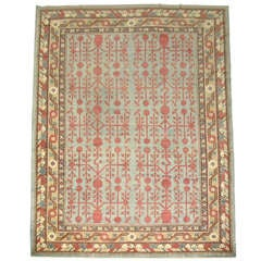 Antique Room-Size Khotan Rug