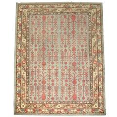 Antique Room-Size Khotan Rug