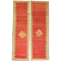 Pair of Turkish Kilim Runners