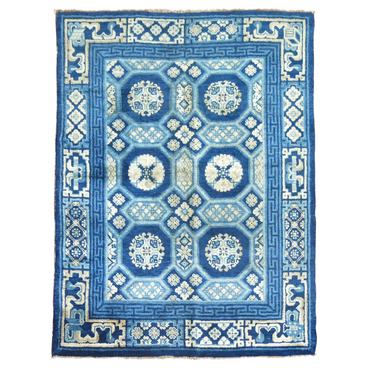 Chinese Carpets And Rugs: Antique Chinese Peking Small Rug At 1stdibs