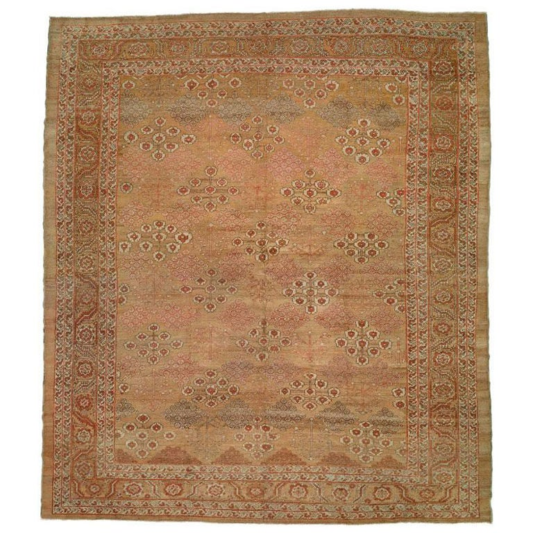 Antique Camel Bakshaish Rug at 1stdibs