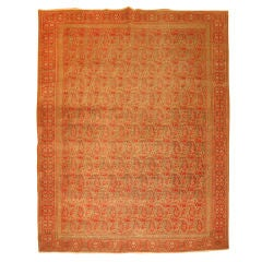 Antique Persian Dorokhsh Rug