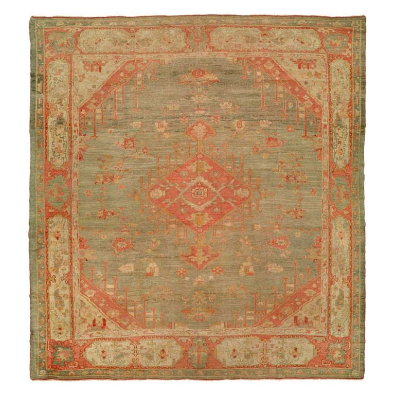Angora oushak rug featured in wikipedia at 1stdibs for Soft furnishing wikipedia