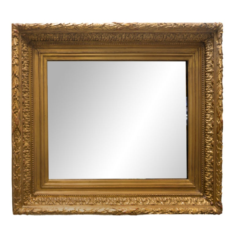 19th Century Gold Gilt Frame New Mirror At 1stdibs