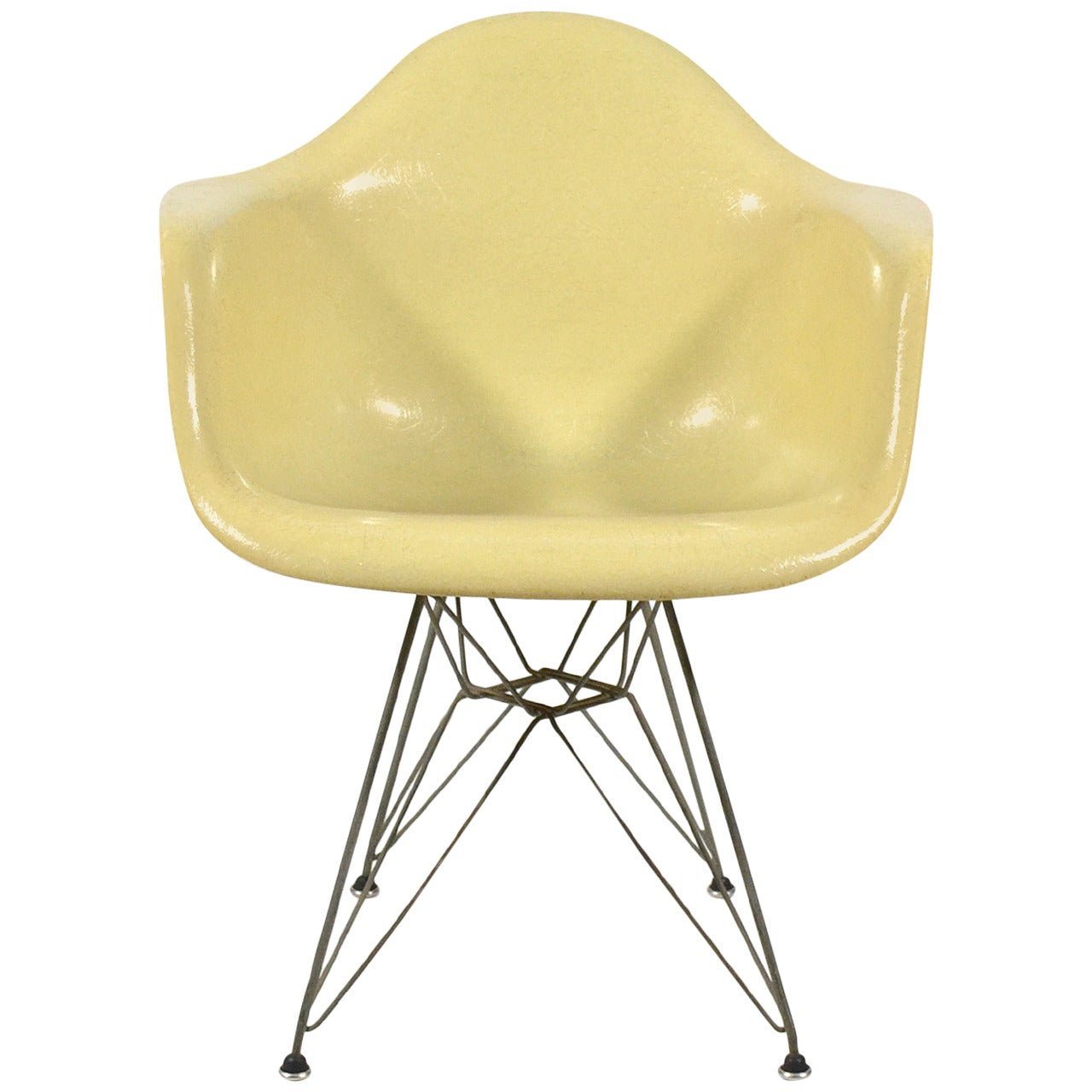 """Charles and Ray Eames """"DAR"""" Armchair by Zenith for Herman Miller"""