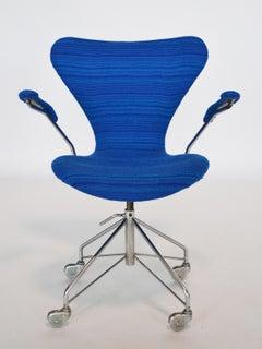 Arne Jacobsen Sevener office chair by Fritz Hansen