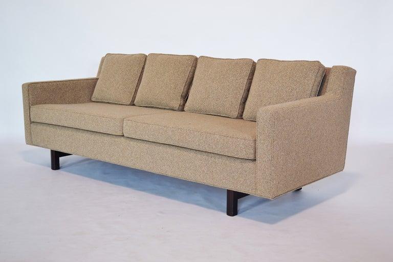 American Edward Wormley Loose Cushion Sofa by Dunbar For Sale