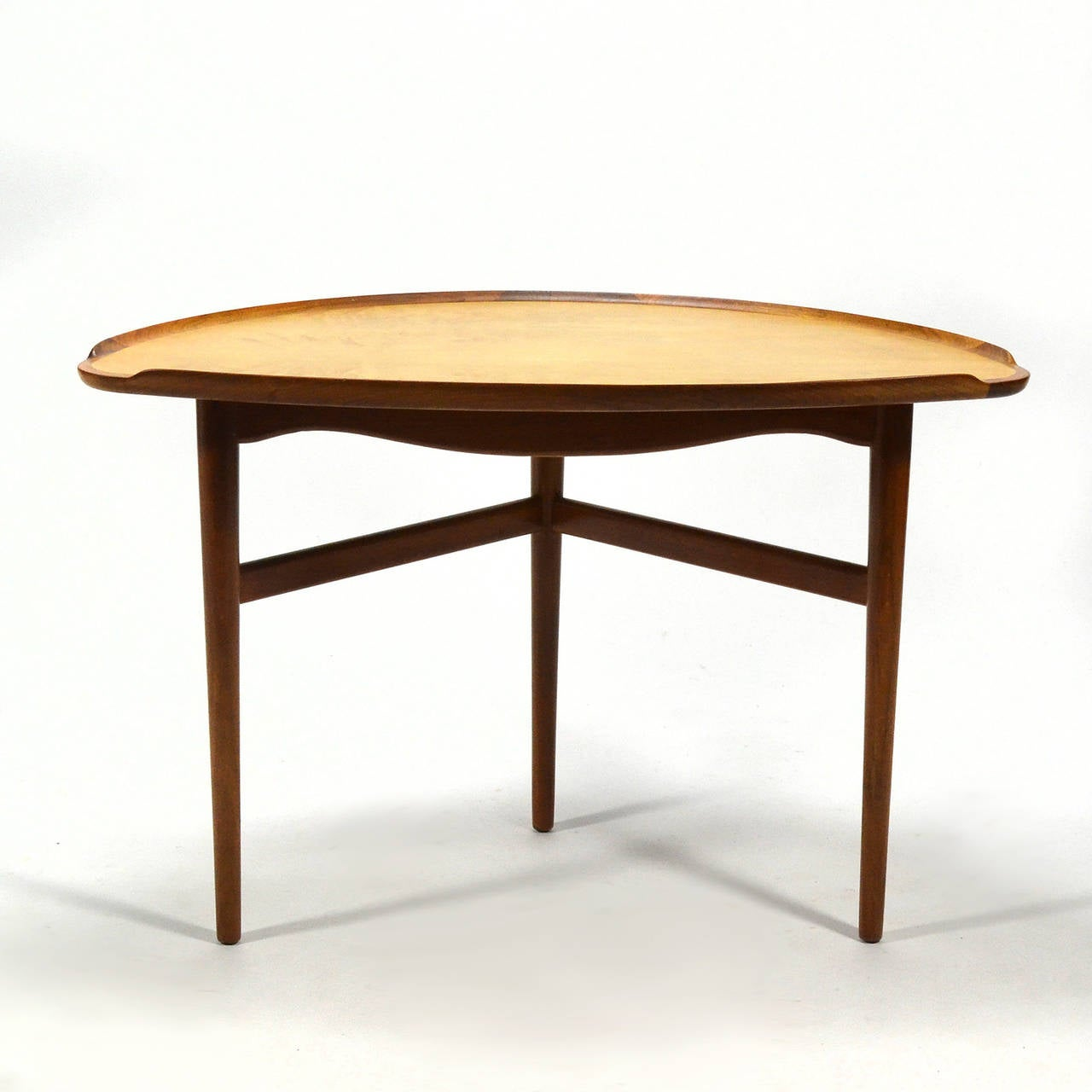 Scandinavian Modern Finn Juhl Table For Sale