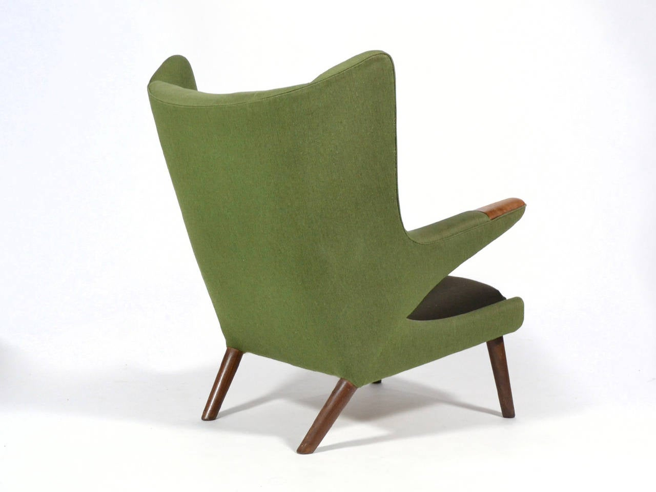 Hans Wegner Papa Bear Chair In Excellent Condition For Sale In Highland, IN