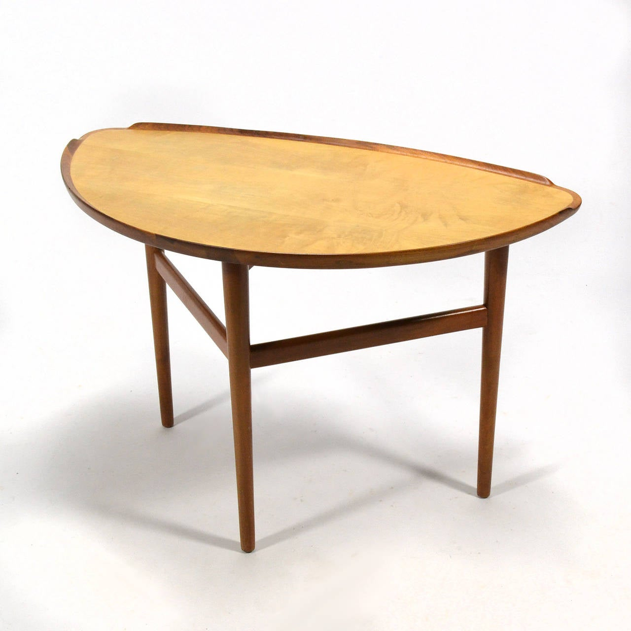 Sycamore Finn Juhl Table For Sale