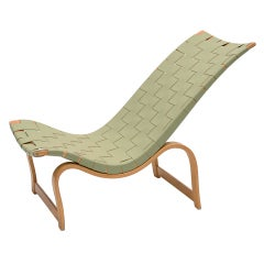 Early Bruno Mathsson model 36 easy chair