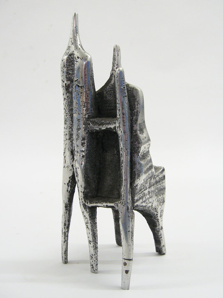 Israeli Aluminum Sculpture by Aharon Bezalel For Sale