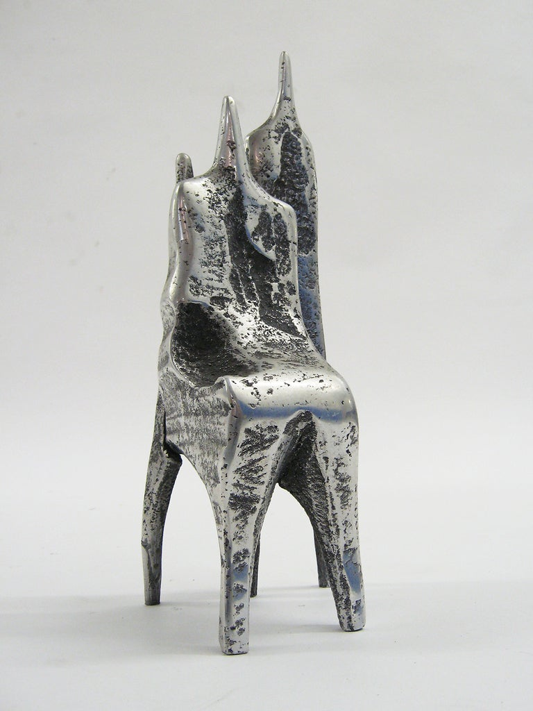 Aluminum Sculpture by Aharon Bezalel For Sale 1